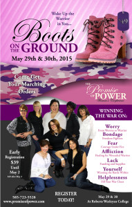 May Boots on the Ground Poster